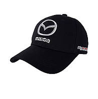 Кепка с автомобильным логотипом Mazda - №3693