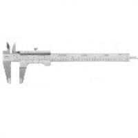 Механический штангенциркуль в футляре, Диапазон измерений: 0-150 мм  Точность измерения: 0,01 мм