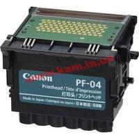 Блок печати для плоттера IPF650/ 655/ 750, Print head PF-04, 3630B001, Картриджи для плот