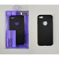 Hoco Чехол под карбон силиконовый Delicate shadow series protective case for iPhone 6/6S black