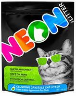 700433 Neon Litter Clump Green Комкующийся кварцевый наполнитель, 1,8 кг