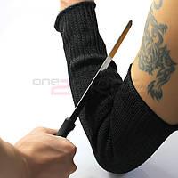 Нарукавник мягкий для защиты от порезов налокотник, фото 1