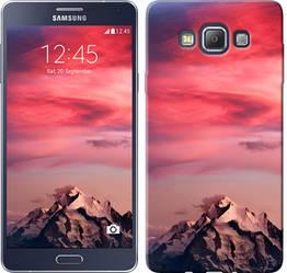 "Чехол на Samsung Galaxy A7 A700H Красочный закат ""2874c-117-328"""