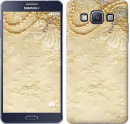 "Чехол на Samsung Galaxy A5 A500H Кружевной орнамент ""2160c-73-328"""