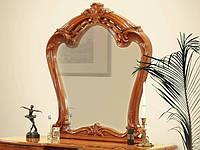 Дзеркало на стіну з ДСП/МДФ у вітальню спальню горіх Олімпія Миро-Марк