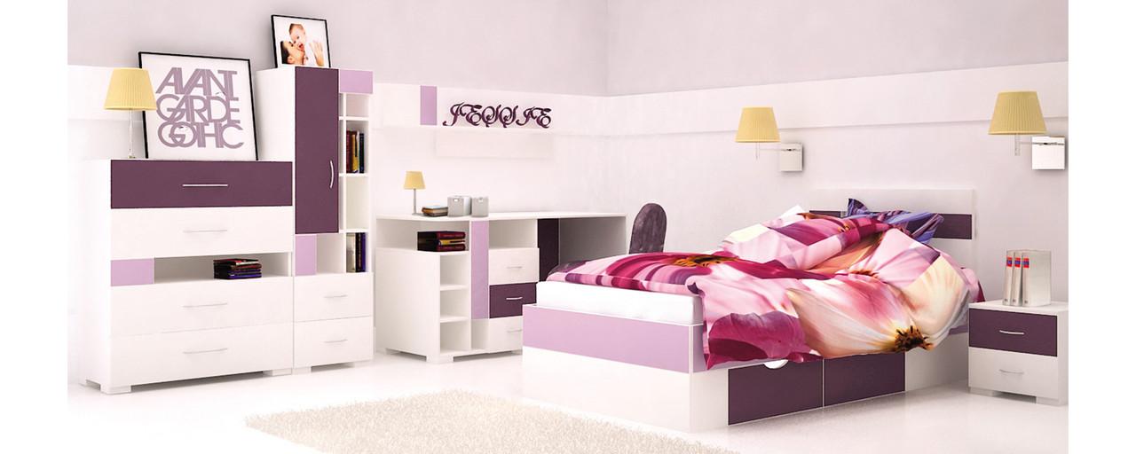 Дитяча кімната з ДСП/МДФ Некст (базовий комплект) Matroluxe