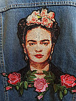 "Портретная вышивка ""Фрида"", фото 1"