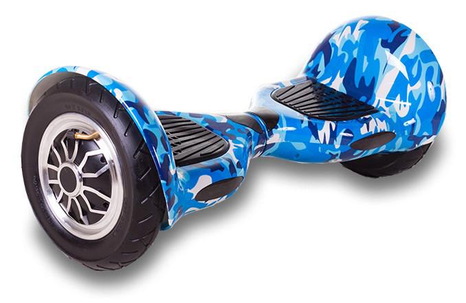 Гироборд Smart Balance U8 10 дюймов Blue Camo, фото 1