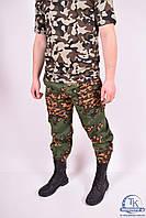 Брюки мужские камуфляжные Партизан (ткань рип.стоп) комуфляж Размер:44,46
