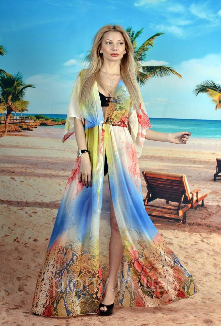 18f1ee28bb1a7 Женская Длинная пляжная туника питонс: продажа, цена в Одессе ...
