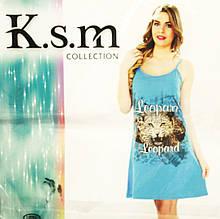 Ночнушка женская K.s.m, Туники на бретелях Турция