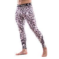 Компрессионные штаны — Леггинсы Venum Tecmo Grey