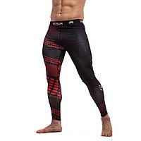 Компрессионные штаны — Леггинсы Venum Rapid Black&Red