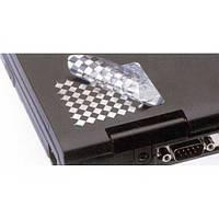 Этикетки контроля вскрытия Fasson Pet Void Check Matt Chrome 24х14 мм (пломбы)