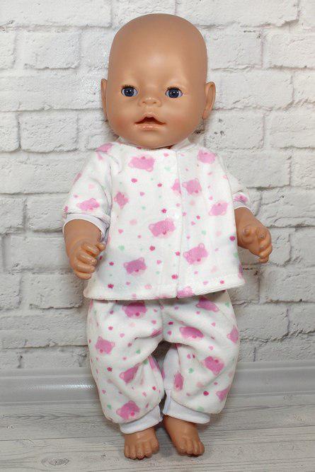 Піжамка сплюшка для ляльки Baby Born