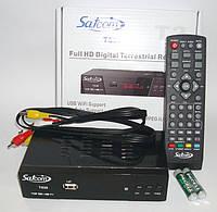 Т2 ресивер тюнер Satcom T530 + Internet+ кинотеатр MEGAGO +AC3 звук