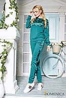 Эксклюзивный трикотажный спортивный костюм женский