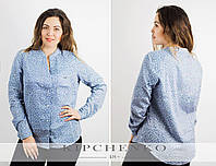 "Рубашка ""Оттава"" джинс, р. 48, 50, 52, 54"