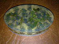 Мыло с сухоцветом мяты-90 грамм