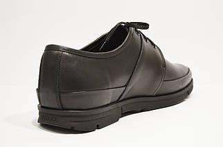 Туфли кожаные черные 122401, фото 2