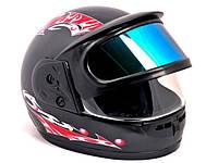 Мотоциклетный шлем Новый каска 2 Визора на Мотоцикл, Скутер, Мото QUAD