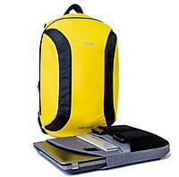 Городской рюкзак TWILTEX MAD желтый (для гаджетов, ноута, планшета и т.п.)