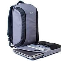 Городской рюкзак TWILTEX MAD серый (для гаджетов, ноута, планшета и т.п.)