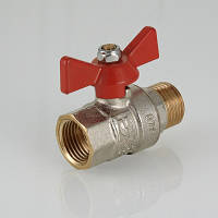 "Кран шаровой ВР-НР, с рукояткой ""бабочка""  VT.218. VALTEC"