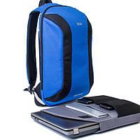 Городской рюкзак TWILTEX MAD синий (для гаджетов, ноута, планшета и т.п.)