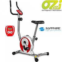 Велотренажер магнитный Smart марки Sapphire (красный)