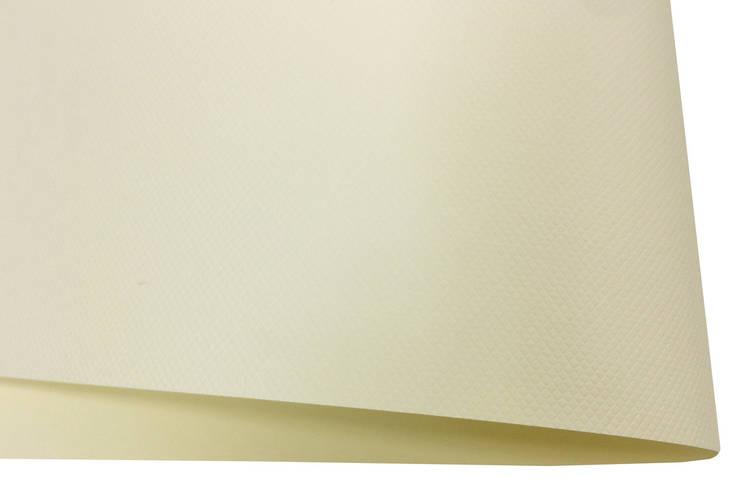 Дизайнерский картон Vivaldi Krem Royale с тиснением ромб, кремовый, 300 гр/м2