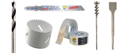 Инструменты и расходные материалы (сверла, буры, резцы,круги отрезные/зачистные)