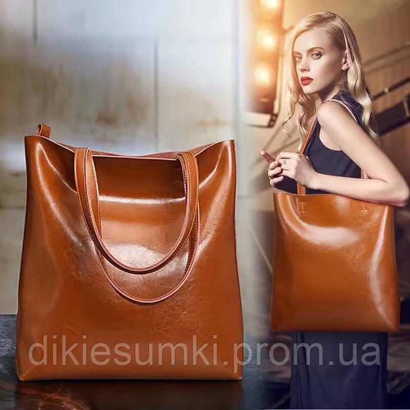 0c1af6caec21 Женская кожаная сумка Grays светло коричневого цвета GR2002LB в ...