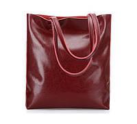 Женская кожаная сумка Grays бордового цвета   GR2002R, фото 1