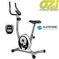 Велотренажер магнитный Smart марки Sapphire (черный)