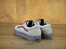 Женские кеды Vans Old Skool NINTENDO Grey, фото 2