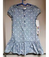 Платье на девочку с трусиками, короткий рукав OSHKOSH