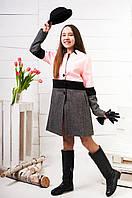 Демисезонное пальто для девочки-подростка, размеры уточняйте. Коллекция 2018 (арт.К-124), фото 1