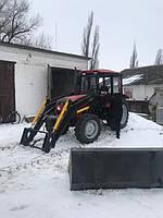 Фронтальный погрузчик КУН МТЗ , ЮМЗ быстросъемный