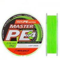 Шнур плетёный Master PE 100м (салатовый)