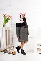 Зимнее пальто для девочки-подростка, размеры уточняйте. (арт.К-125) Коллекция 2018, фото 1