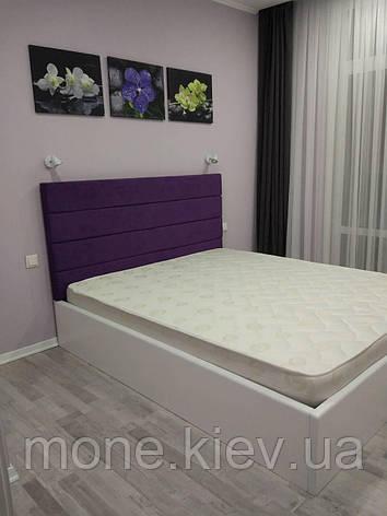 """Кровать из массива  """"Фиона"""" с мягким изголовьем , фото 2"""