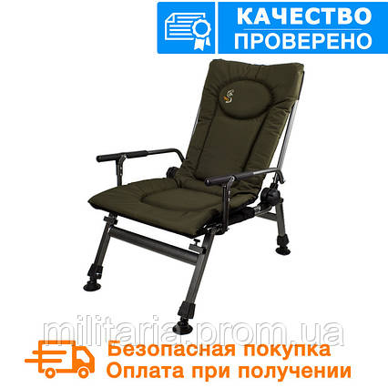 Карповое кресло Elektrostatyk с подлокотниками (F5R), фото 2