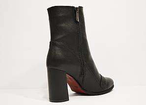Ботинки кожаные черные Nivelle 8015, фото 3