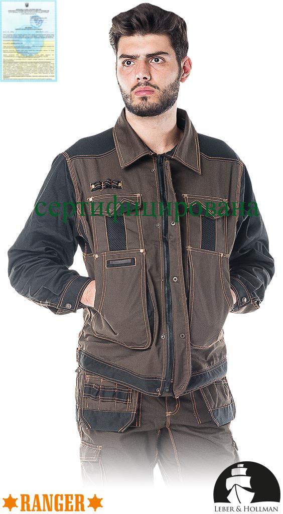 Куртка прочная рабочая Lebber&Hollman Польша (спецодежда мужская) LH-RG-J KBP