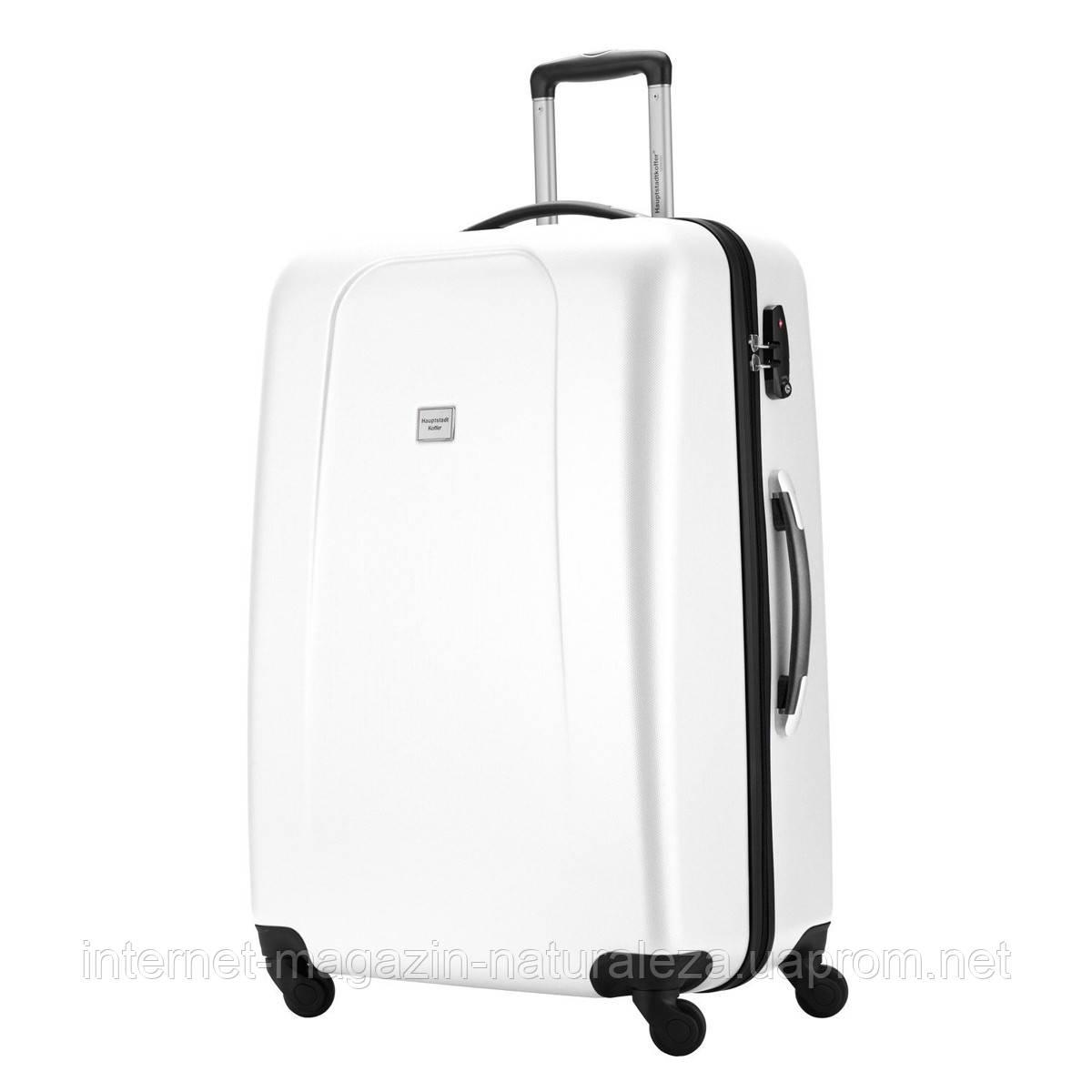 Большие чемоданы Hauptstadtkoffer maxi Wedding белый