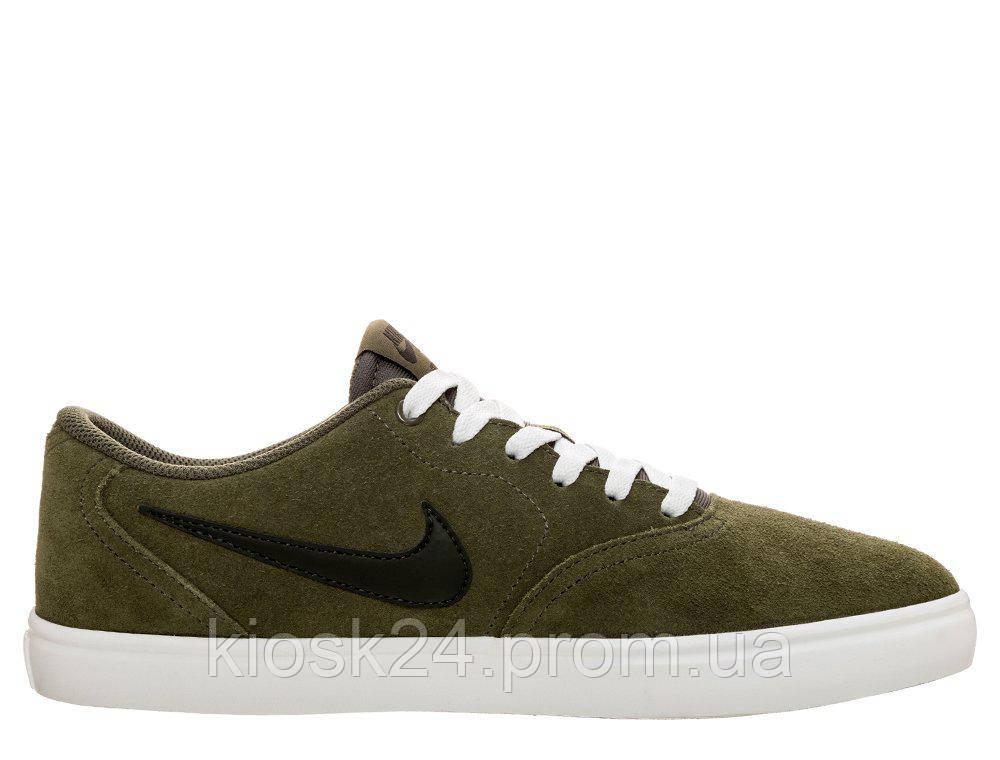 newest cbc85 43733 Оригинальные кроссовки Nike Sb Check Solarsoft Olive (843895-200)