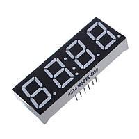 10шт 7-сегментный 0,56 дюйма 4 Digit 12 Pins Красный светодиодный дисплей для Arduino