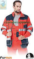 Куртка FORMEN сигнальная рабочая мужская Lebber&Hollman Польша (рабочая мужская одежда) LH-FMNX-J CSB