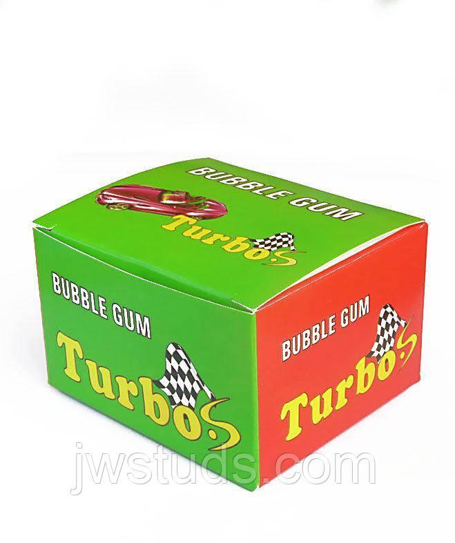 Жвачка Turbo (блок 20 шт.) вспомни детство